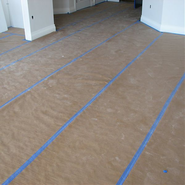 Marble Floor Construction : Top ways paper reinforces construction sites
