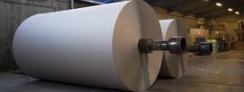 Roll of kraft paper
