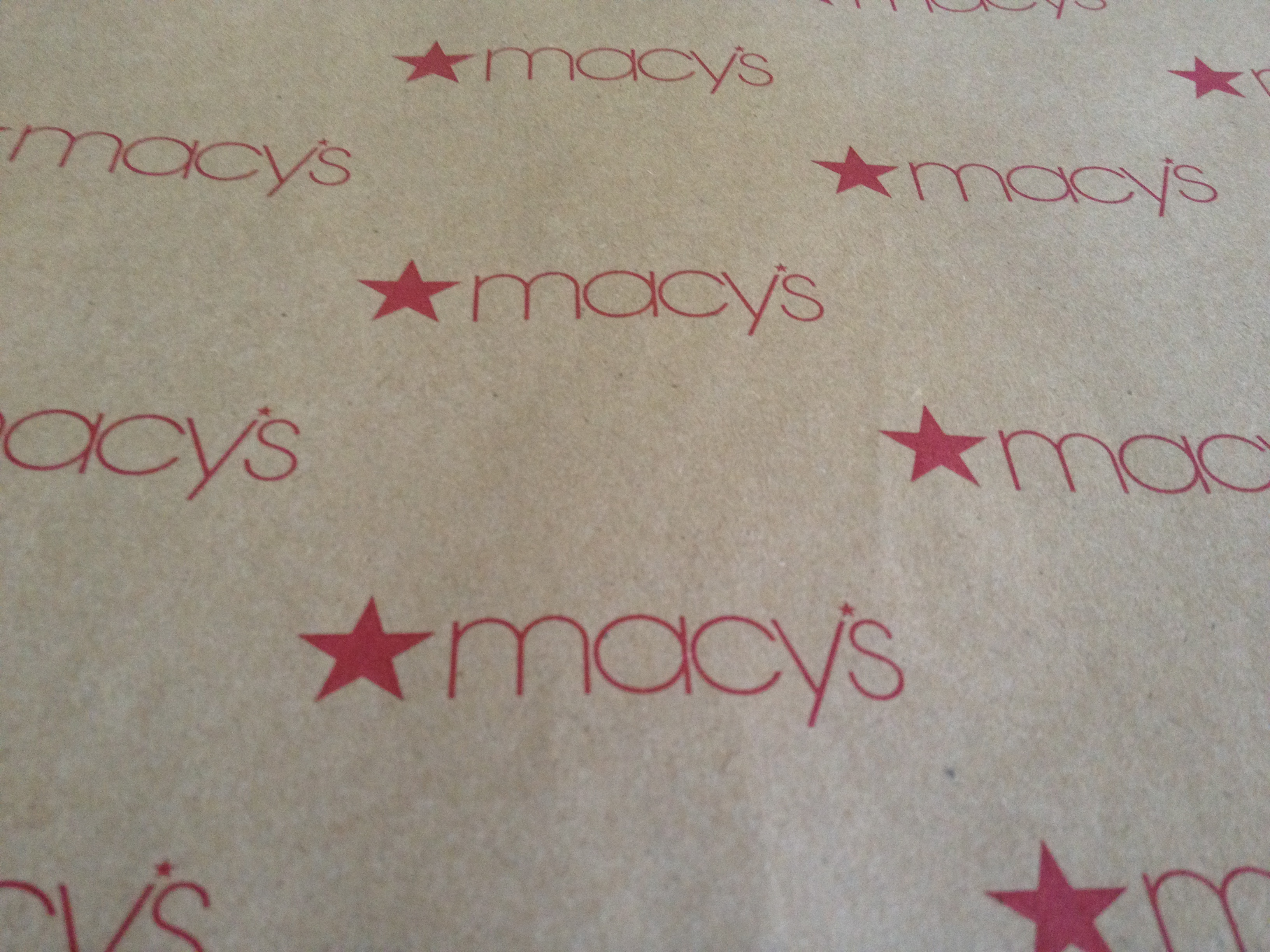 Kraft Paper made for Macy's by Oren