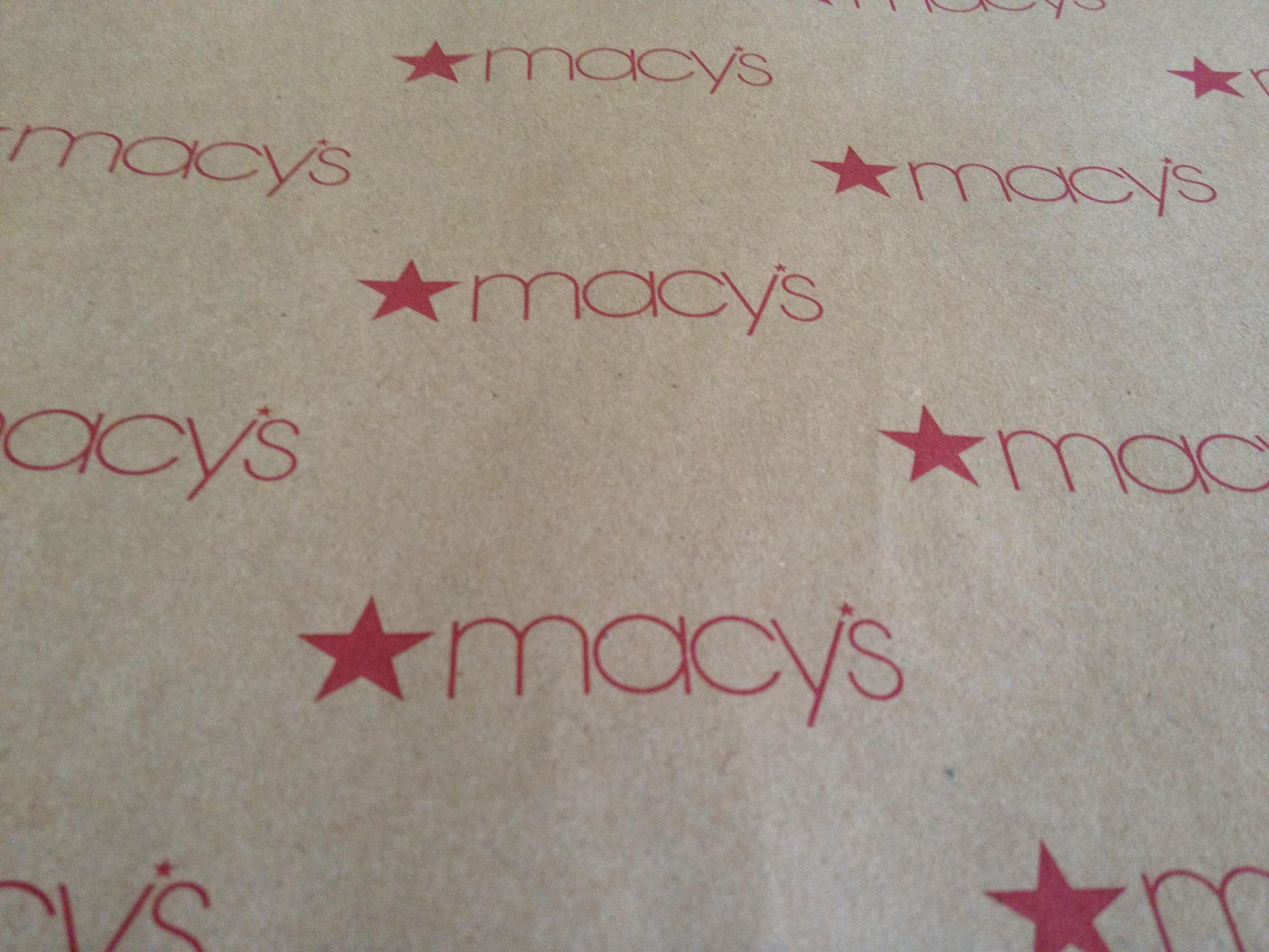 Kraft Paper made for Macy's by Oren