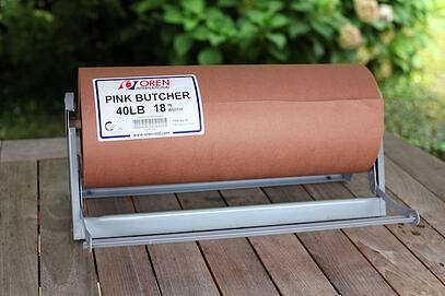 Counterkraft Pink Butcher Paper Is Most Often Used In The Barbecue Scene As A Basket Tray Liner As Well As Carry Out Wrap Pink Butcher Also Known As