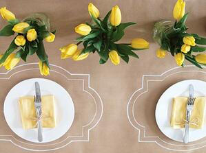 kraft paper tablecloth