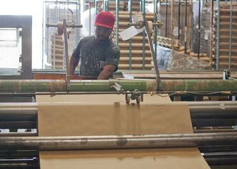 Kraft paper production in Oren facility