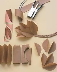 kraft paper cut outs