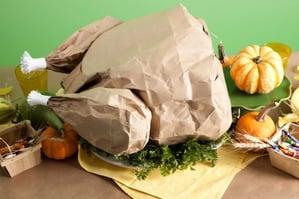 kraft paper turkey