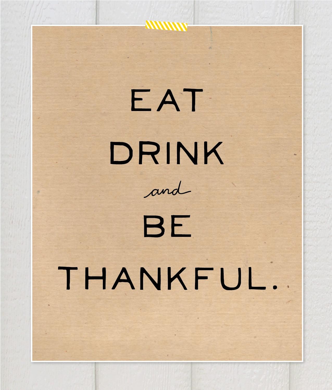 thanksgiving card kraft paper