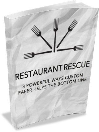 Restaurant Rescue: 3 Powerful Ways Custom Paper Helps the Bottom Line